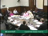 Council Work Session 10/31/13