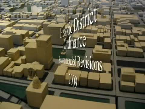 Historic District Ordinance Recommended Revisions