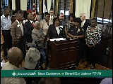 7/21/14 News Conference on Recent Gun-Related Violence