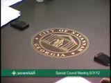 Special Council Meeting 8/31/12, Part 1