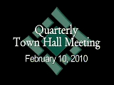 Town Hall Meeting 2/10/10