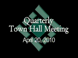 Town Hall Meeting 4/20/10