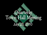 Town Hall Meeting 7/28/10