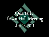 Town Hall Meeting 7/13/11