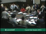 City Council Work Session 2/6/14