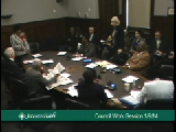 City Council Work Session 1/9/14