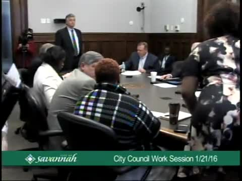 Council Work Session 1/21/16