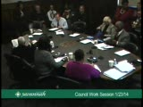 City Council Work Session 1/23/14