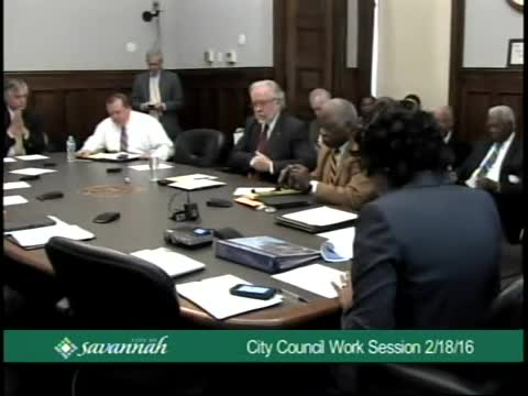 City Council Work Session 2/18/16