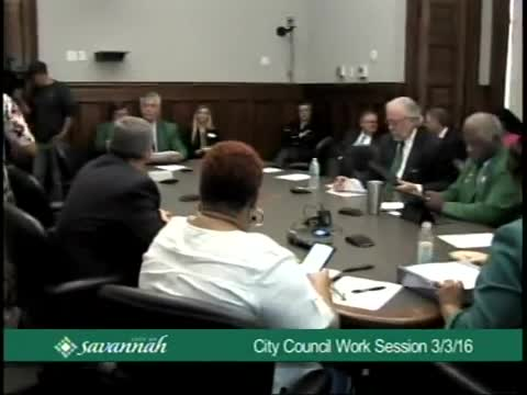City Council Work Session 3/3/16