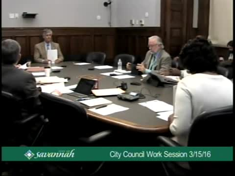 City Council Work Session 3/15/16