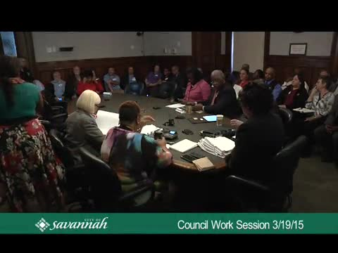 City Council Work Session 3/19/15