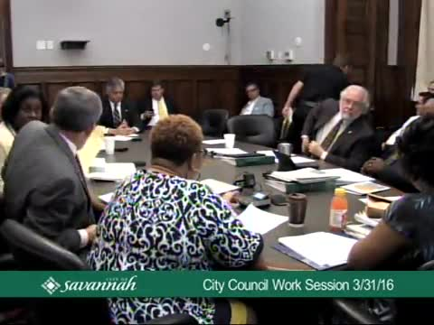 City Council Work Session 3/31/16