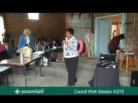 City Council Work Session 4/2/15
