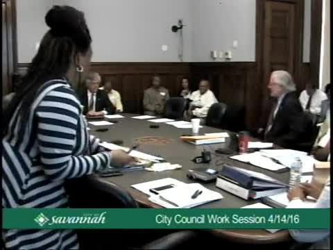 City Council Work Session 4/14/16