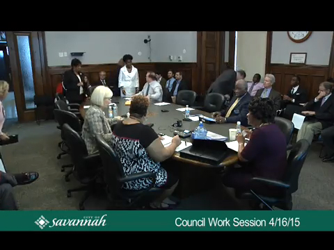 City Council Work Session 4/16/15