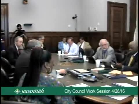 City Council Work Session 4/28/16
