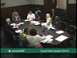 City Council Work Session 5/1/14