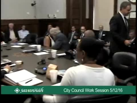 City Council Work Session 5/12/16