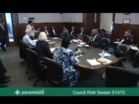 City Council Work Session 5/14/15
