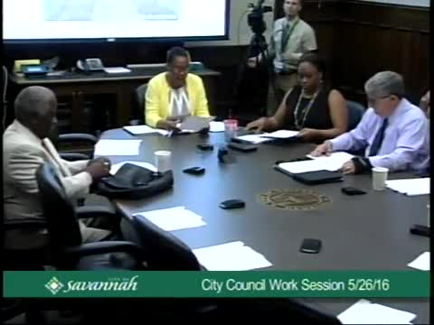 City Council Work Session 5/26/16
