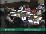 City Council Work Session 5/29/14