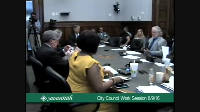 City Council Work Session 6/9/16