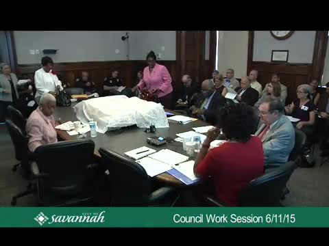 Council Work Session 6/11/15