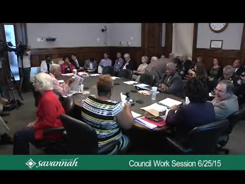 City Council Work Session 6/25/15