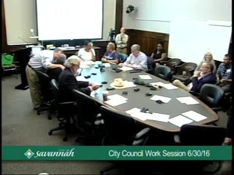 City Council Work Session 6/30/16