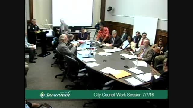 City Council Work Session 7/7/16