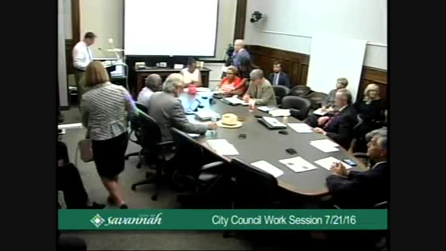 City Council Work Session 7/21/16