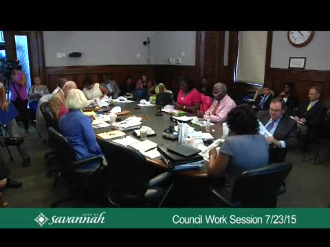 Council Work Session 7/23/15