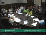 City Council Work Session 7/24/14