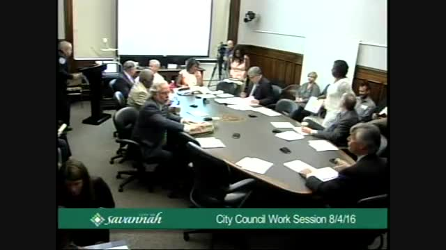 City Council Work Session 8/4/16