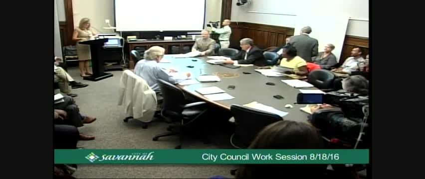 City Council Work Session 8/18/16