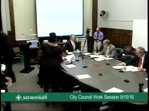 City Council Work Session 9/15/16
