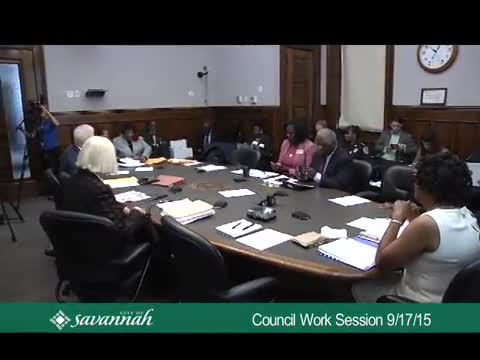 City Council Work Session 9/17/15