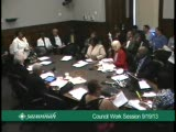 Council Work Session 9/19/13