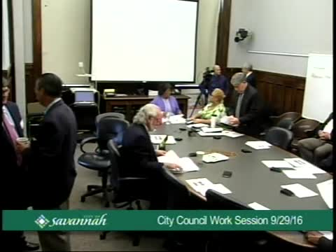 City Council Work Session 9/29/16