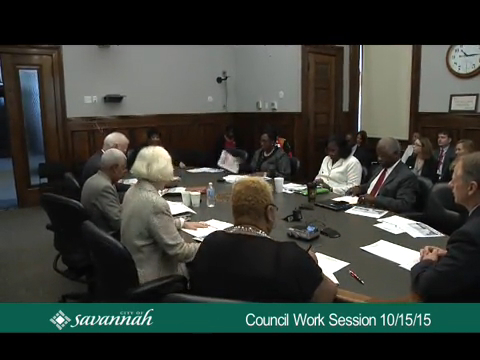 City Council Work Session 10/15/15