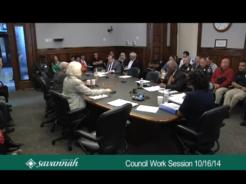 Council Work Session 10/16/14