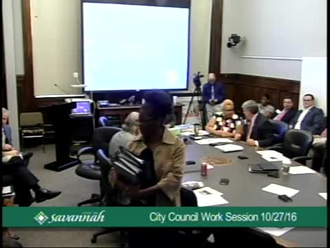 City Council Work Session 10/27/16