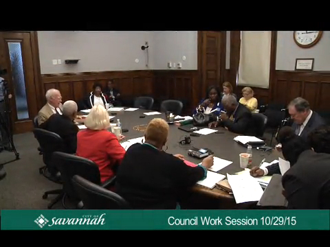 City Council Work Session 10/29/15