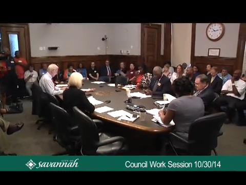 City Council Work Session 10/30/14