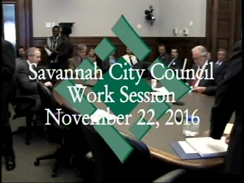 City Council Work Session 11/22/16