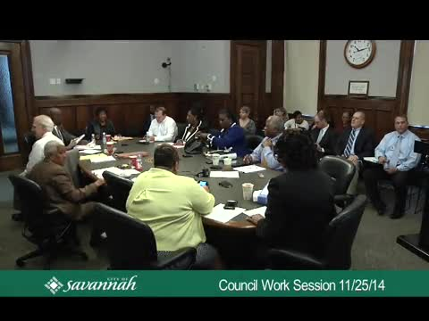 City Council Work Session 11/25/14