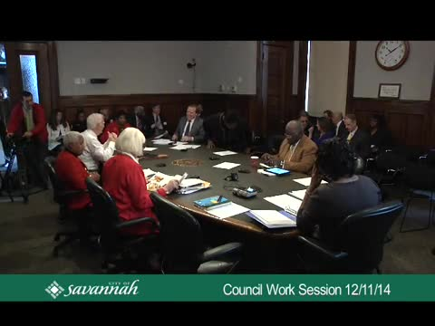 City Council Work Session 12/11/14