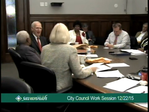 City Council Work Session 12/22/15