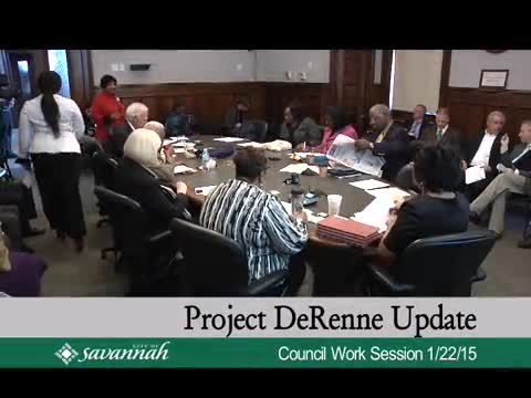 City Council Work Session 1/22/15